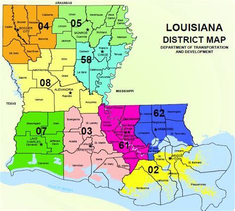 louisiana dotd map contacts