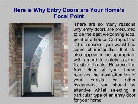 focal point homes here is why entry doors are your home s focal point