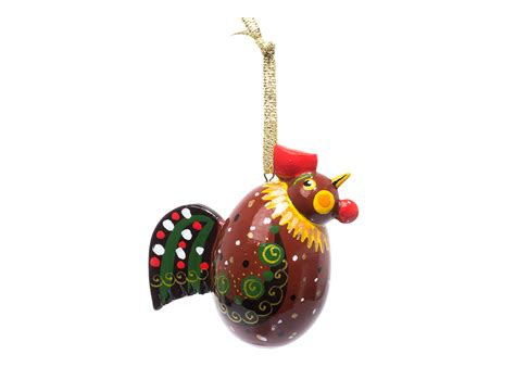 rooster christmas ornament at goldencockerel com
