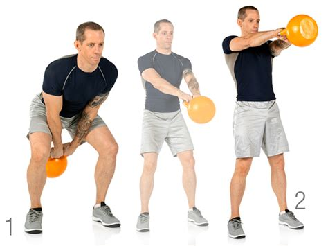 partner swing boost your burn with this kettlebell partner workout