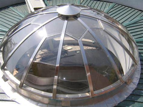 cupole in plexiglass cupole e lucernari in acciaio inox in palermo trapani