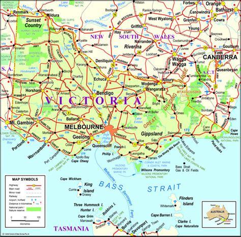 printable maps victoria mitcham victoria australia map