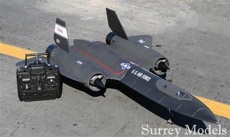 remote control jet f 16 fighting sr71 black bird surrey models