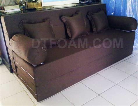 Sofa Bed Inoac Lazada sofa bed minimalis coklat tua polos special inoac edition
