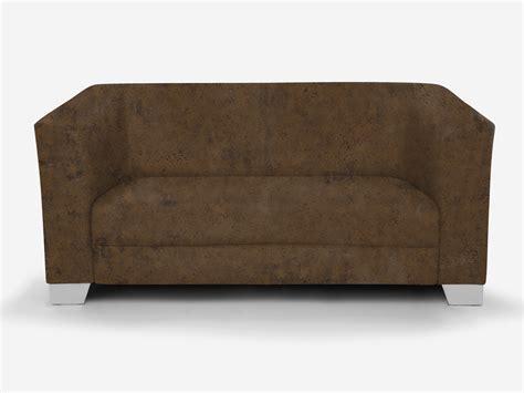 chicago 2 sitzer sofa gobi 03 braun