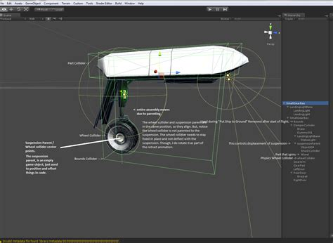 unity ksp tutorial hi landing gear animation modelling and texturing