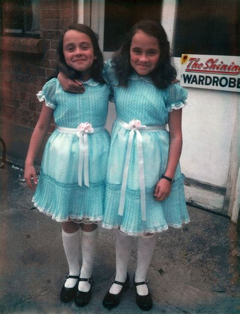 shining twins lisa and louise burns who played the grady twins in the