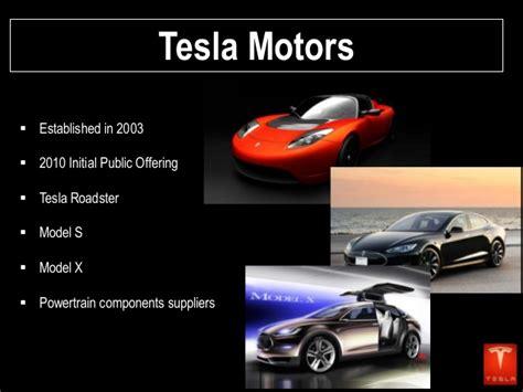 About Tesla Motors Inc Tesla Motors Presentation