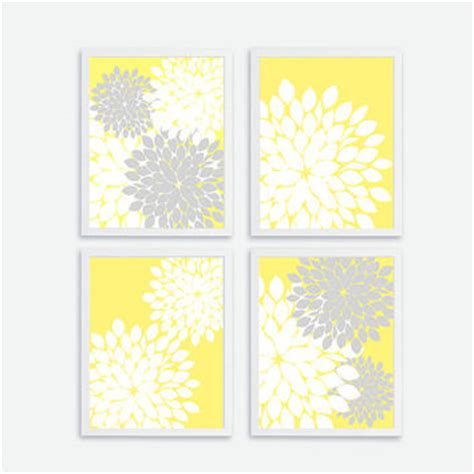 free printable wall art yellow best yellow and gray baby room products on wanelo