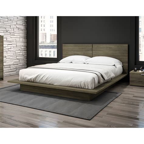 platform bed wayfair stellar home modena queen platform bed reviews wayfair