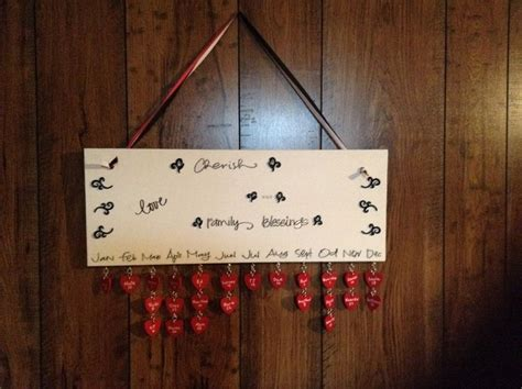 make your own birthday calendar make your own hanging birthday calendar your projects obn