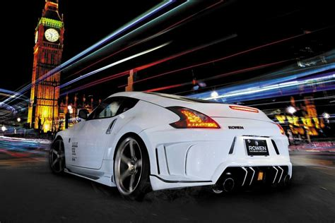 nissan 370z nismo body kit rowen body kit for nissan 370z is filled with jdm goodness