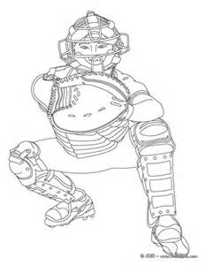 catcher coloring pages hellokids