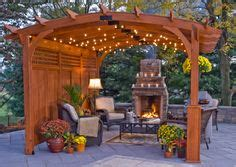 romantic and cozy atmosphere under a pergola i love the building a pergola help me plan it landscaping lawn