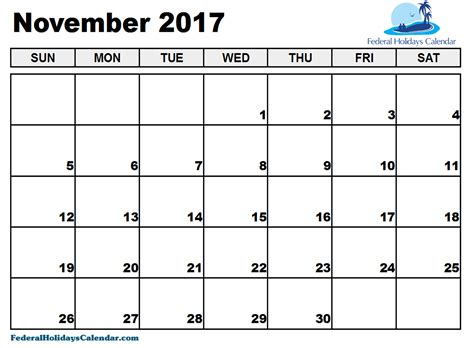 Calendar Nov 2017 Nov 2017 Calendar Related Keywords Nov 2017 Calendar