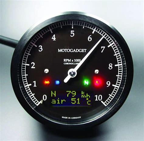 motogadget speedometer  tachometer gauge cluster