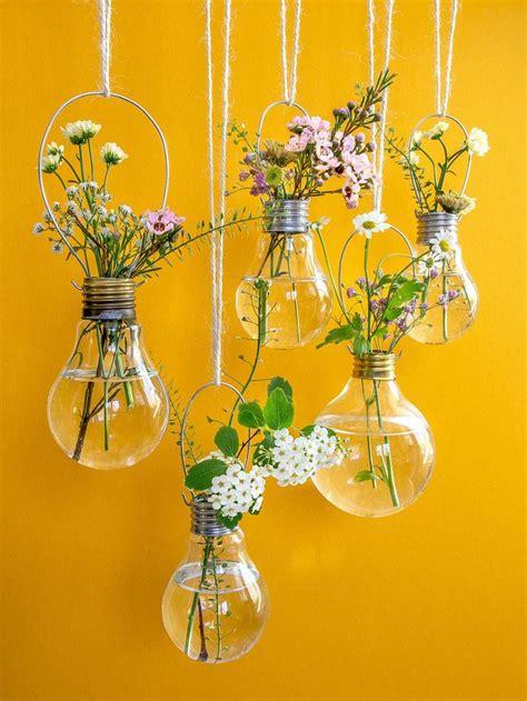 flowers in light bulbs best 25 light bulb ideas on light bulb