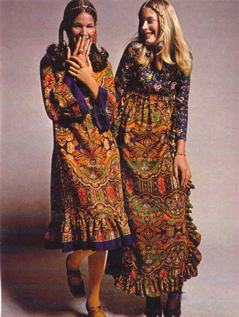 1970s boho hippie fashion 1970s seventeen magazine it s that bohemian things again