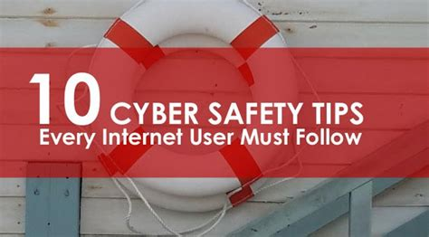 10 Safety Tips To Follow by 10 Security Tips To Keep Hackers Away