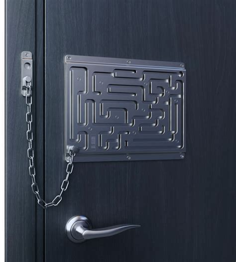Chain Lock On Door by Creative Door Chain That Is Really Safe Digsdigs