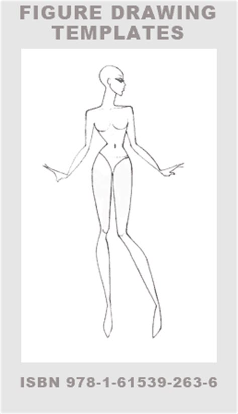 pin female drawing template on pinterest