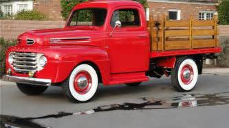 1950s Ford Truck 1950 Ford Stakebed 117429