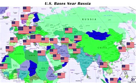 map usa bases vladimir putin publish a world map and all the u s