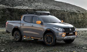 Mitsubishi L Mitsubishi Flavors Up L200 And Asx With Geoseek Concepts