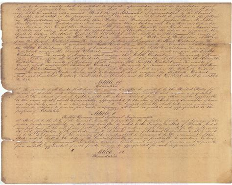 Florida Constitution Article X Section 4 by Florida Memory Constitution Of 1838