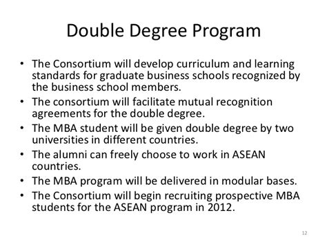 The Consortium Mba Schools the asean consortium for graduate business education