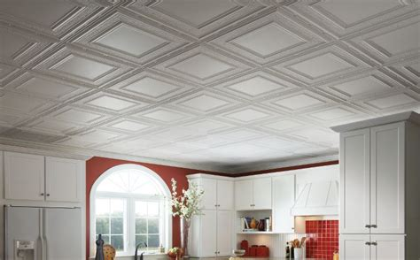metal ceiling tin ceiling armstrong metallaire white