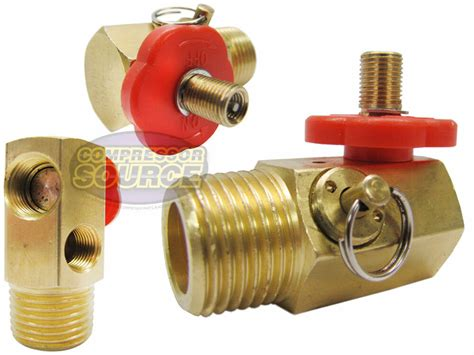 compressed air bubble tank manifold valve  fill port ball valve relief ebay