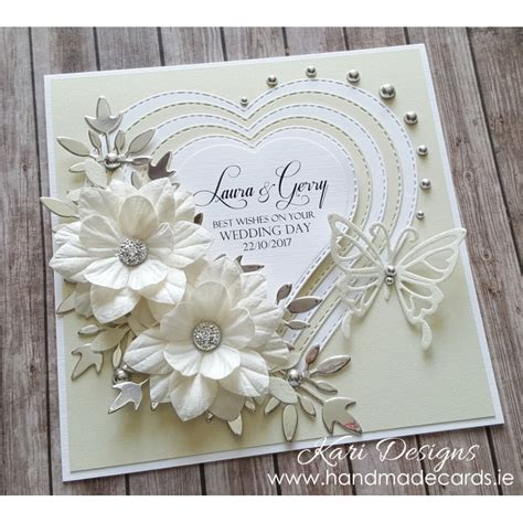 Handmade Wedding Cards - handmade wedding card