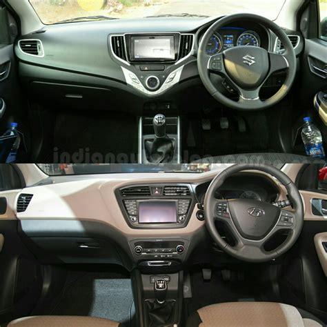 Or Review Maruti Baleno Vs Hyundai I20 Comparison Review