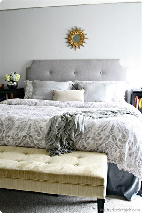 make your own tufted headboard diy headboard