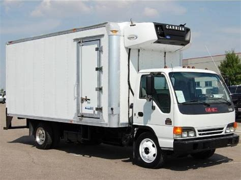 2003 gmc w series truck w5500 commercial refrigeration