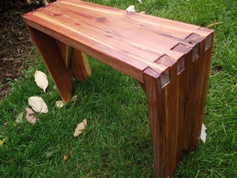 small outdoor benches small cedar dovetail garden bench thecarpentershands small garden bench treenovation