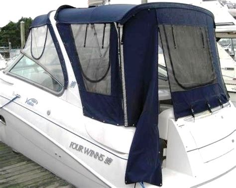 four winns boat canvas cer top canvas and frame factory oem for four winns