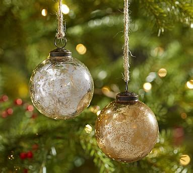 gold mercury glass ornaments silver gold mercury glass ornaments set of 6