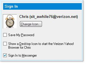 how to reset verizon yahoo email password setting verizon yahoo browser options sign out sign in