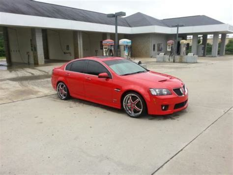pontiac g8 gas mileage sell used 2009 pontiac g8 gxp sedan 4 door 6 2l low