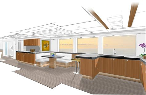 yacht galley layout liberty yacht design galley yacht charter superyacht