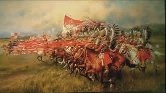 Dariusz caballeros miroslaw szeib a winged hussar charge
