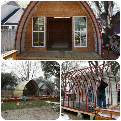 build a cabin for 5000 build your own arched cabin in a weekend for