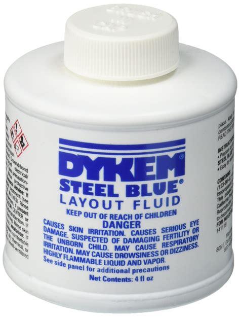 layout fluid amazon com blue 16 oz spray dykem layout fluid 1