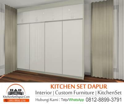 Lemari Plastik Di Bogor jasa pembuatan lemari pakaian bogor kitchen set dapur