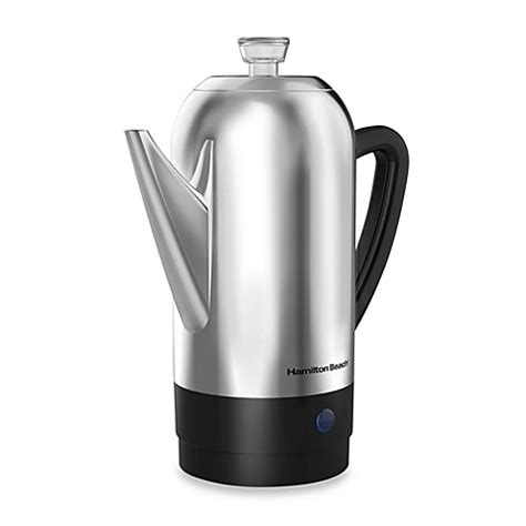 bed bath and beyond hamilton nj buy hamilton beach 174 12 cup stainless steel percolator from bed bath beyond