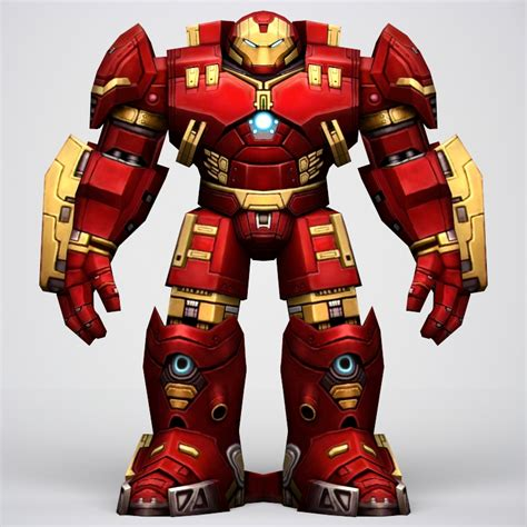 Hulkbuster 3d Model iron hulkbuster armor 3d model flatpyramid
