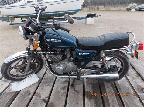 1982 Suzuki Gs450t 1981 Suzuki Gs450t T1240797
