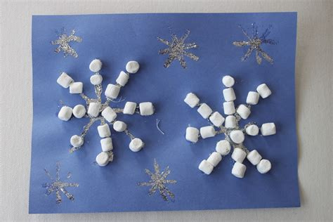 marshmallow crafts for 1 bag of marshmallows snow much happy home
